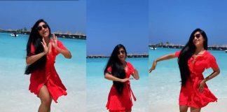 dhanashree-verma-was-seen-dancing-in-the-maldives